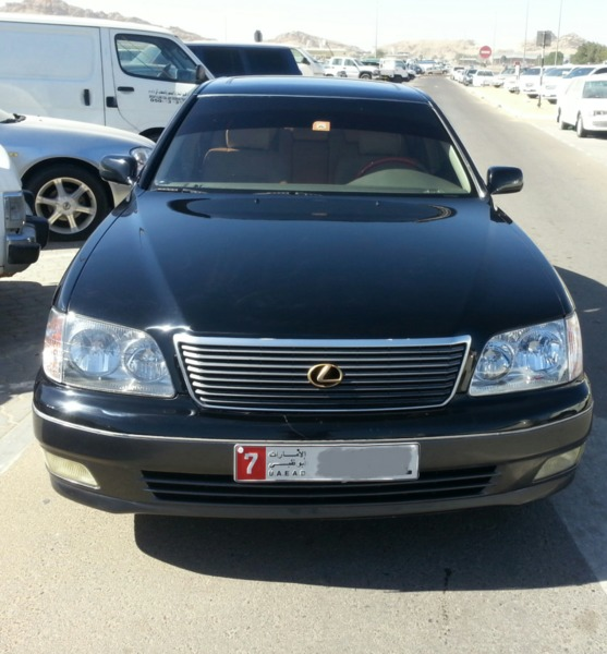 Used لكزس موديل 98 LS ضمان مكينة + جير + شاسي in Dubai, UAE