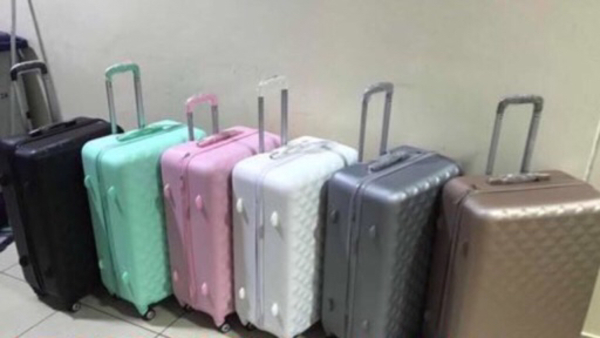 Used 3pcs trolley bag and hand carry  in Dubai, UAE