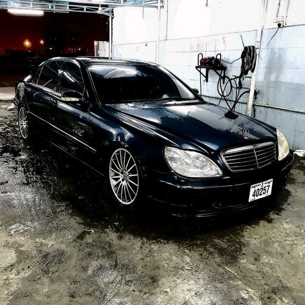 Used Mercedes Benz S500 1999 Full Option S-class 5.0 Liter 8 Cylinder   in Dubai, UAE