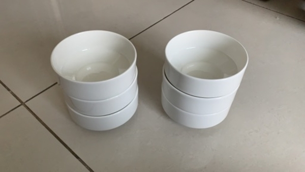 Used 6 New Soup Bowls For Sale in Dubai, UAE