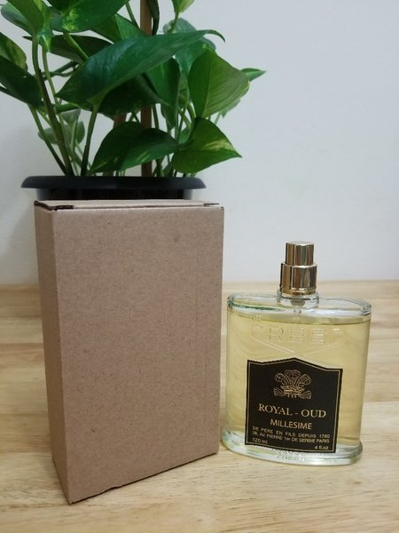Used royal oud creed millesime men perfume in Dubai, UAE