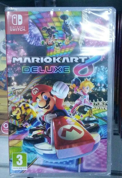 Used SWITCH GAME- MARIO KART 8 in Dubai, UAE