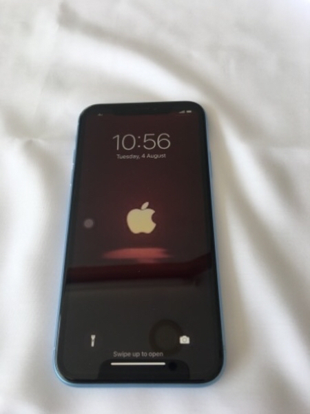 Used iPhone XR blue 64gb dual sim in Dubai, UAE