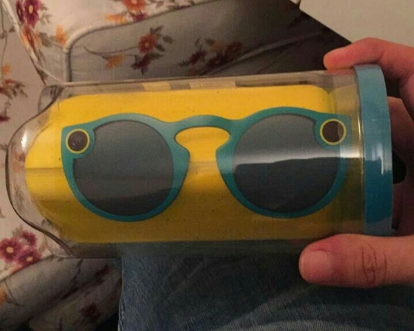 "Used Brand New Snapchat Blue Sunglasses ""Spectacles"" For Iphone And Android in Dubai, UAE"