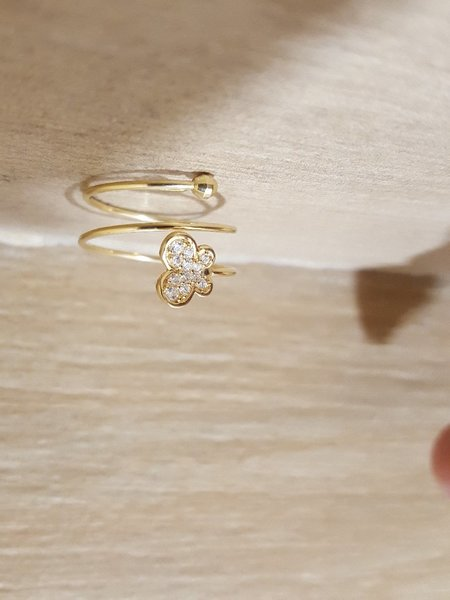 Used 18k  Gold Butterfly Ring in Dubai, UAE