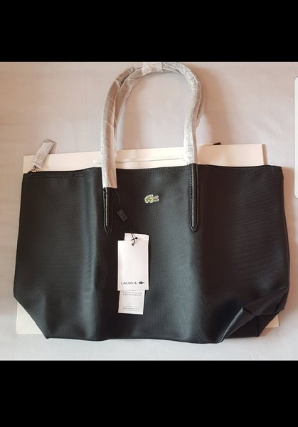 Used Lacoste Tote Bag - medium / bronze color in Dubai, UAE