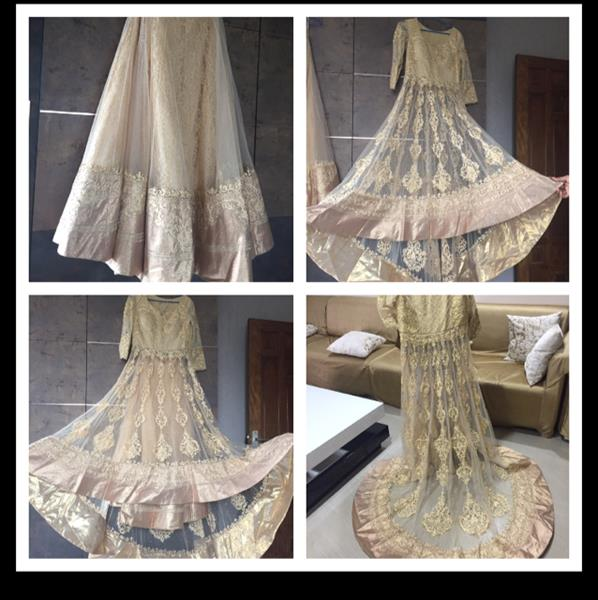 Used Bridal Dress With Trail. in Dubai, UAE