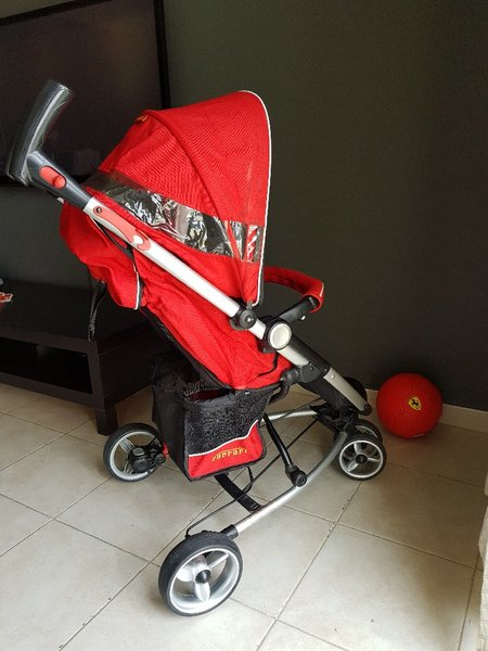 Used Ferrari pram in Dubai, UAE