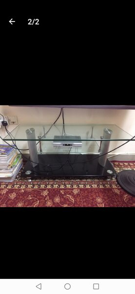 Used TV table stand in Dubai, UAE