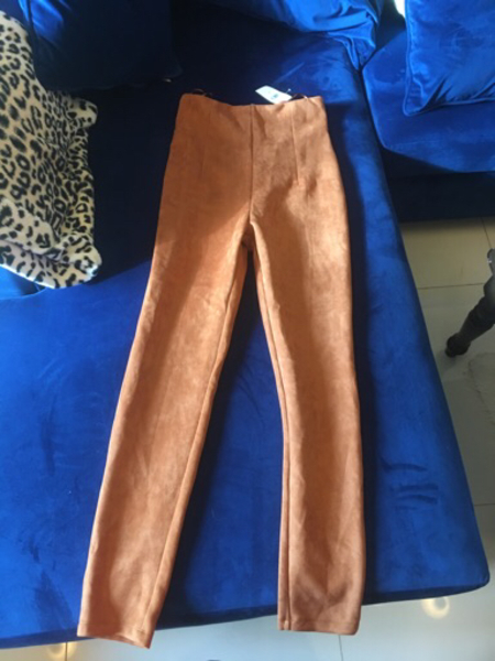 Used Suede Trousers Brand New in Dubai, UAE