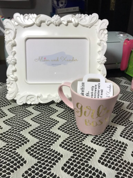 "Used ""Girl Boss"" Cofee  Mug in Dubai, UAE"