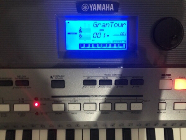 Used Yamaha piano with stand in Dubai, UAE