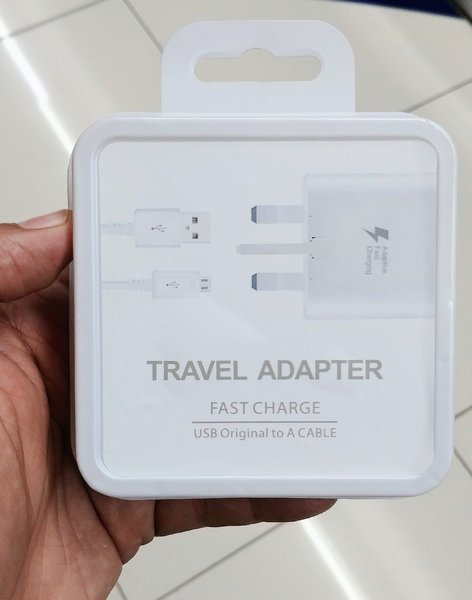 Used New Orignal Fast Charger with Cable.. in Dubai, UAE