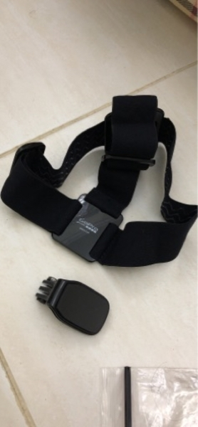 Used Gopro straps and accesorries in Dubai, UAE
