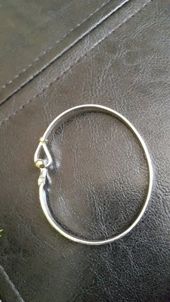 Silver plated bangle very high quality