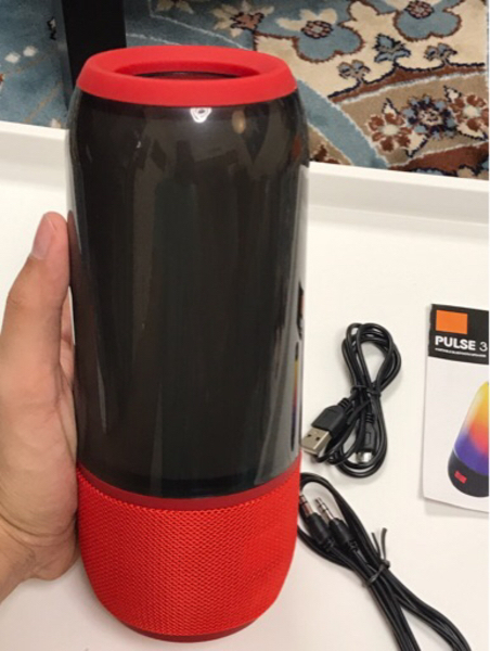 Used Pulse 3 Bluetooth speaker with lights in Dubai, UAE