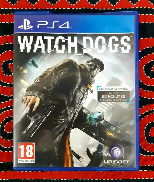 Used WATCHDOGS FOR PS4 in Dubai, UAE
