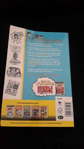 Used Middle school get me out of here book in Dubai, UAE