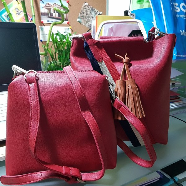 Used Red Two_Way Bag in Dubai, UAE