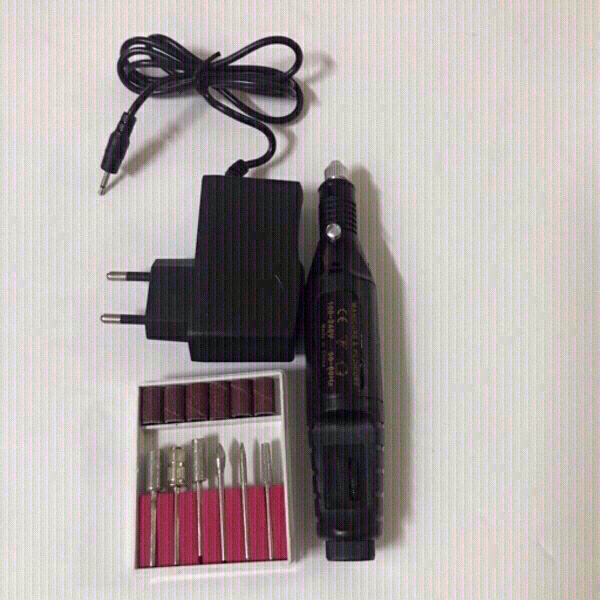 Used Electric nail drill kit (new) in Dubai, UAE
