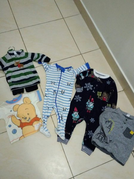 Used Baby bundle. Branded New items!  in Dubai, UAE