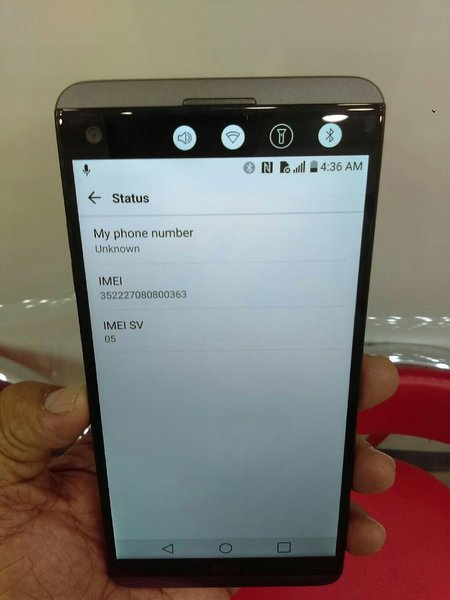 Used LG V20...64 gb...4gb ram..4g..single sim in Dubai, UAE
