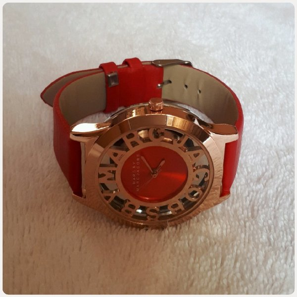 Used Red watch Marc Jacobs in Dubai, UAE