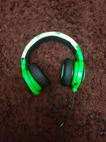 Used Razer gaming headset in Dubai, UAE