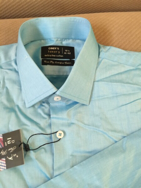 Used Diners Cotton Formal Shirt in Dubai, UAE