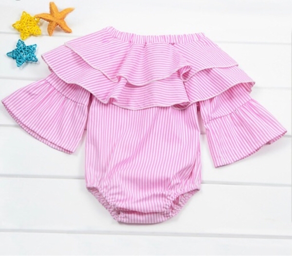 Used Pink Romper pant set with socks/goggles in Dubai, UAE