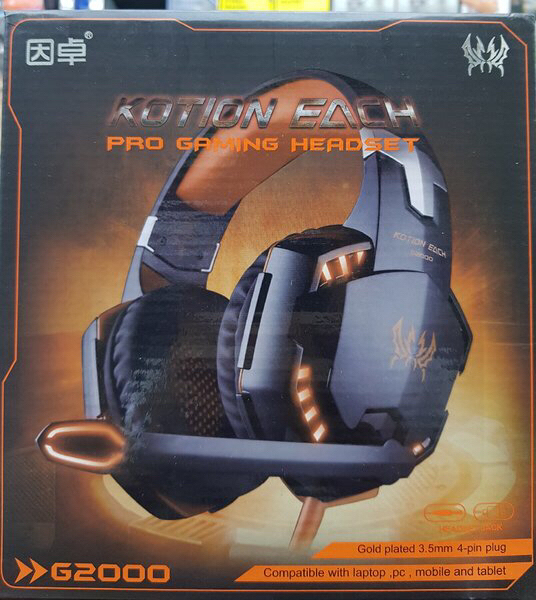 Used Gaming headphone for PS4 AND PC in Dubai, UAE
