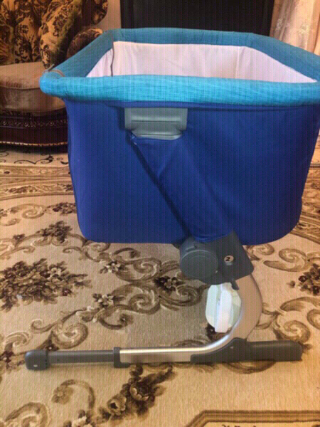 Used Juniors baby cot next to me in Dubai, UAE