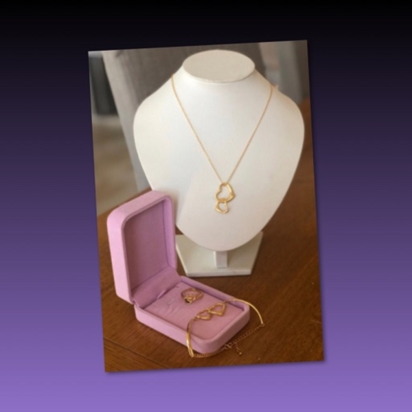 Used Entwined Hearts Fashion Jewelries in Dubai, UAE