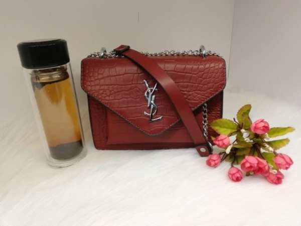 Used OFFER YSL LADIES BAG red in Dubai, UAE