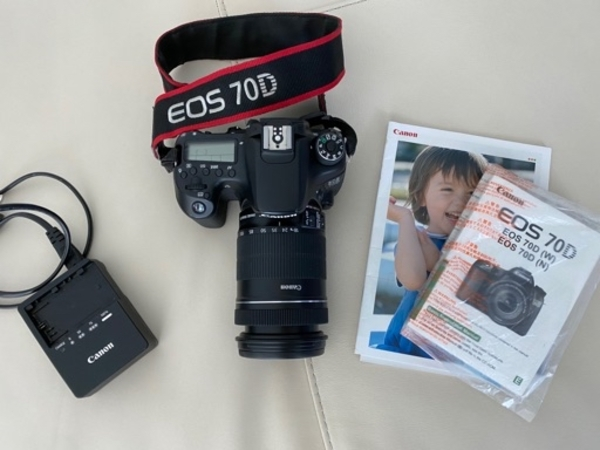 Used Canon EOS 70D camera in Dubai, UAE
