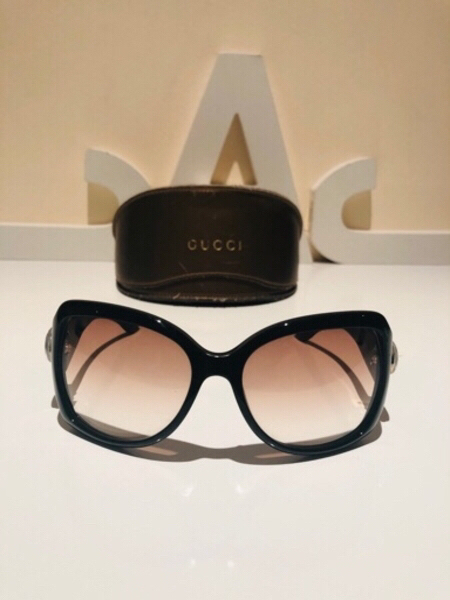Used Gucci sunglasses brown used in Dubai, UAE