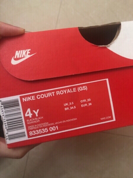 Used Authentic Nike Court Royale - NEW (36EU) in Dubai, UAE