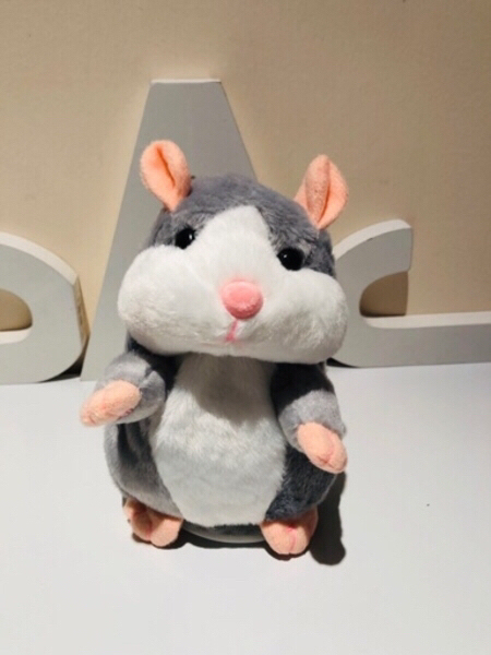 Used Talking Hamster Voice record toy+game in Dubai, UAE