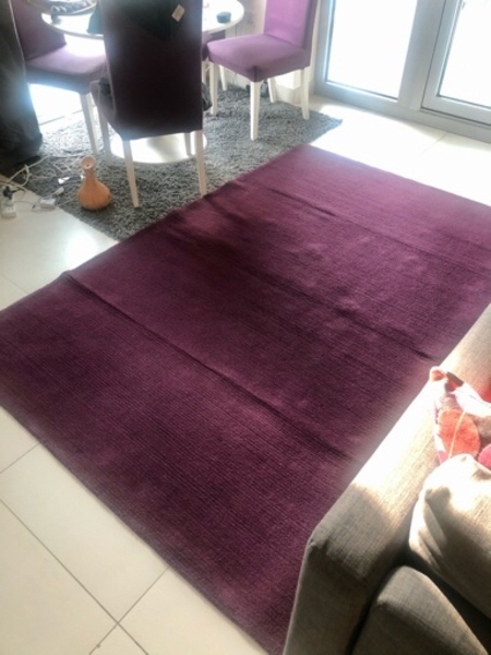 Used Purple rug / carpet in Dubai, UAE