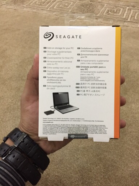 Used Seagate 2TB Expansion Hard Drive USB 3.0 in Dubai, UAE