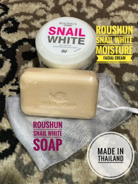 Used Soap and cream made in Thailand in Dubai, UAE