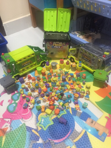 Used Trash Packs Toys in Dubai, UAE