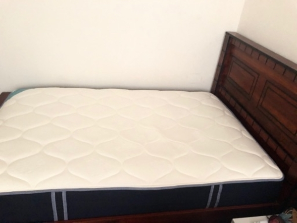 Used Bed frame and mattress in Dubai, UAE