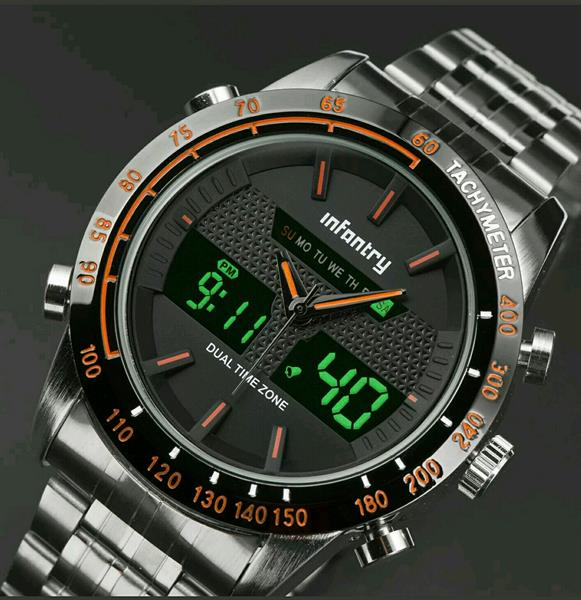 Used Men infantry military style watch in Dubai, UAE