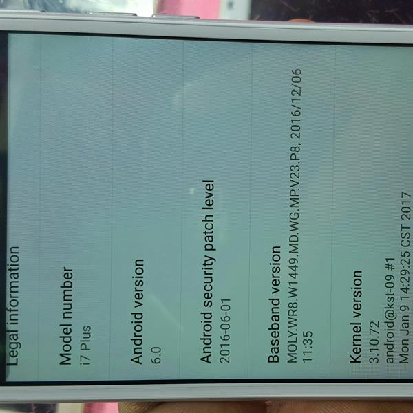 Used Sanyo I 7 32 Gb Rome 2 Gb Ram 8mp Back Camra Brand New Only Open Box Check Mobile All Accesories  in Dubai, UAE