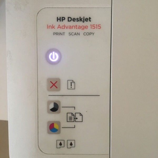 Used HP Ink Advantage 1515 all-in-one printer in Dubai, UAE
