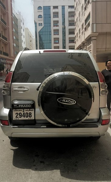 Used Prado 2004 model in Dubai, UAE