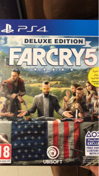 Used Far Cry 5 deluxe edition PS4  in Dubai, UAE