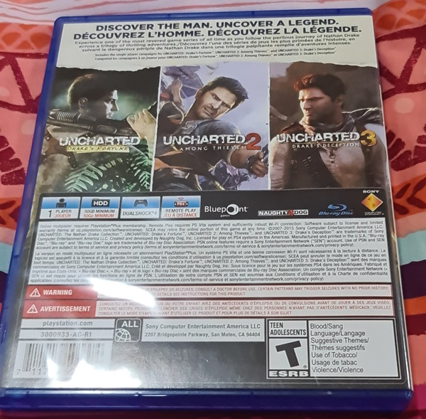 Used Uncharted The Nathan Drake Collection in Dubai, UAE