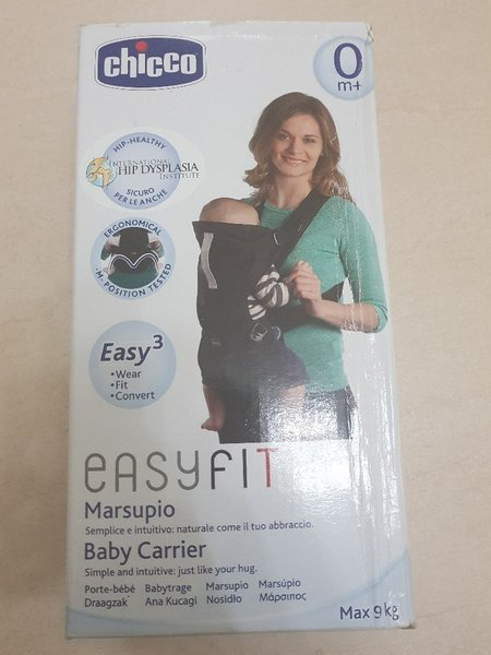 Used New Chicco Easyfit Baby Carrier Max 9kg in Dubai, UAE